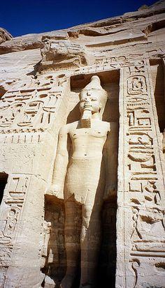 Hathor temple, Abu Simbel, Egypt
