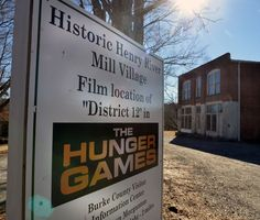 'Hunger Games' village off limits because of vandalism, stealing. :( Why do some people have to ruin it for everyone?