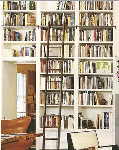 love the shelves right over the door idea