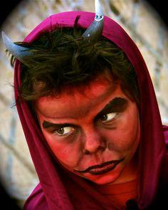 Satan/Devil Makeup and Costume