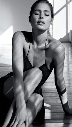 Doutzen Kroes in WSJ Mag's March issue.