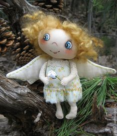 Купить Еще один ангел ) - разноцветный, ангел, ангелочек, ангел-хранитель, ангелы, ангелок