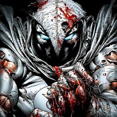 Moonknight! Now that the Marvel Defenders universe is expanding who wants to see a Moonknight series! I'd even accept him as a Punisher style role in a series! #moonknight #marvel #marvelcomics #Netflix #daredevil by devilzsmile.com #devilzsmile