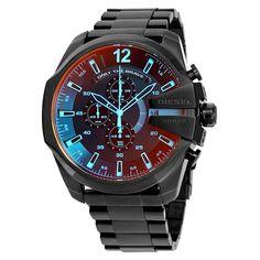 dbe1e665575 Relógio Diesel Masculino Ref  Dz4318 1pi Street Style Masculino