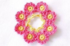 Beyond the Square -  Motif 17 by Sewing Daisies, via Flickr