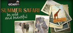 "Mimulus testet: dm News: ebelin Limited Edition ""Summer Safari"""