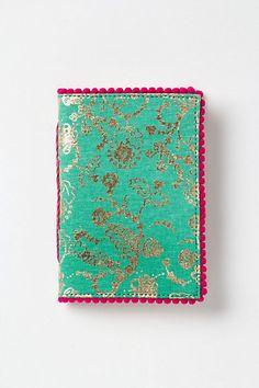 pretty pompom journal {anthropologie}