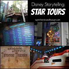 Disney Wordless Wednesday Storytelling Star Tours