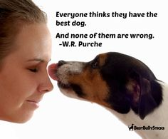 Everyone thinks they have the best dog. And none of them are wrong. :) Our dogs are priceless!