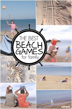 Beach Games For Kids – PlayTivities Beach Games For Kids FUN BEACH GAMES FOR KIDS! We came up with super fun beach games that are active, playful, easy to set up and just simply fun! Beach Kids, Summer Beach, Summer Fun, Beach Crafts For Kids, Summer Crafts, Beach Play, Kid Crafts, Craft Projects, Beach Vacation Tips