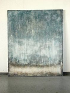 "Saatchi Art Artist Christian Hetzel; Painting, ""glimmering blue"" #art"