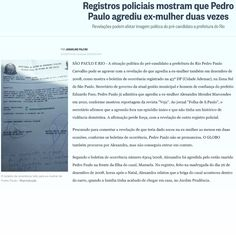 Registros policiais mostram que Pedro Paulo agrediu ex-mulher duas vezes ➤ http://oglobo.globo.com/brasil/registros-policiais-mostram-que-pedro-paulo-agrediu-ex-mulher-duas-vezes-18031614 ②⓪①⑤ ①① ①②