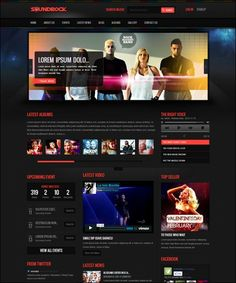 50 Excellent Dark WordPress Themes – Want Your Website to ROCK?