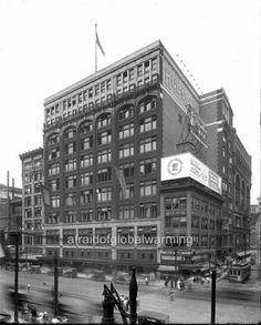 Photo 1914 Detroit MI J L Hudson Co Woodward Ave | eBay