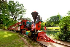 Park Train in New Braunfels, TX