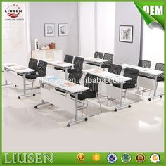 Factory wholesale price modern training table stainless steel folding meeting table