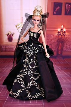 Live from the Red Carpet by Badgley Mischka Barbie Cute Flower Girl Dresses, Girls Dresses, Formal Dresses, Barbie Princess, Disney Princess, Fashion Dolls, Fashion Outfits, Badgley Mischka, Barbie Clothes