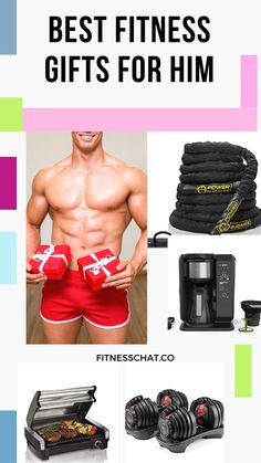 Are you looking for fitness gifts for him that are unique and not just socks? Here is a list of christmas gift ideas for boyfriend that every man will truly appreciate and love! gym gifts for him