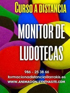 #Curso a distancia toda España y Latinoamerica: MONITOR/A DE #LUDOTECAS
