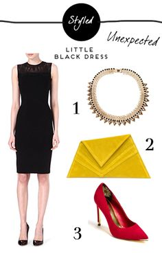 A modern take on a classic - wear your LBD three ways this party season with tips from of Dreams Little Dresses, Lbd, Party Dress, Dreams, Classic, Modern, Tips, How To Wear, Black