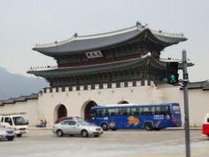 Gyeongbokgung Palace entrance gate in Seoul