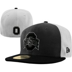 30d11b980d1 New Era Ohio State Buckeyes 59FIFTY Fitted Hat - Graphite Black