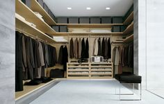 Design Ideas for Your Walk-In Closet