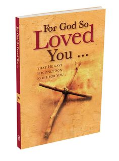 For God so Loved The World Paperback Gift Book Version   Available @ Faith4U.  Card Facilities are Available.   #Gods_Love #crucifiction