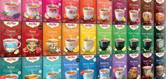 This is the colorful world of YOGI TEA!YOGI TEA®