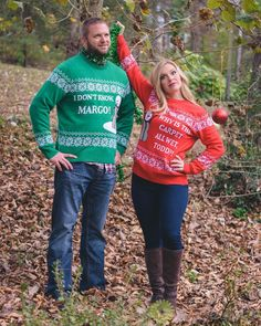 Pin for Later: Make Everyone at the Party Jealous With These Ugly Christmas Sweaters For Couples Christmas Vacation