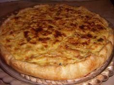 Cozinha com Graça: Tarte de bacalhau com natas