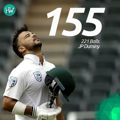 A classic innings by JP Duminy on just Day 1 have put South Africa on the front foot. #SAvSL #cricket #duminy