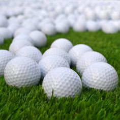 5Pcs Profession Training Ball Durable Practice Golf Balls - White