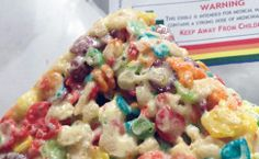 These fruity rice krispie treats by Truly Edibles are sold in two different sizes depending on potency: and great way to start off the morning, as … Weed Recipes, Marijuana Recipes, Cannabis Edibles, Cooking Recipes, Cannabis Oil, Rice Crispy Treats, Krispie Treats, Rice Krispies, Incredible Edibles