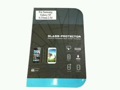 Samsung Galaxy S5 Tough Tempered Glass Screen Protector Heavy Duty