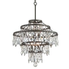 Shop for Troy Lighting Meritage Large Pendant. Get free delivery at Overstock - Your Online Ceiling Lighting Store! Get in rewards with Club O! Troy Lighting, Rustic Lighting, Home Lighting, Modern Lighting, Foyer Pendant Lighting, Light Pendant, Thing 1, Large Chandeliers, Crystal Decor