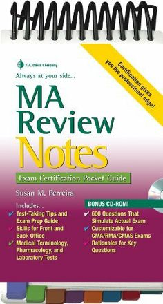 Medical Assistant Certification Exam and Testing Guide