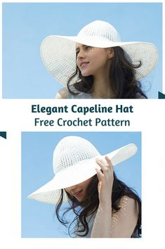 Elegant Crochet Hat Pattern For Summer - Knit And Crochet Daily