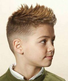 Short Straight Casual Hairstyle – Light Auburn Brunette Hair Color - All For Hairstyles Boys Haircut Styles, Kids Hairstyles Boys, Toddler Boy Haircuts, Little Boy Haircuts, Haircuts For Men, Messy Hairstyles, Hairstyle Short, Little Boy Mohawk, Straight Hairstyles