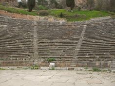 Amphitheatre  Delphi Greece