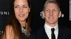 After a disappointing sporting month at the Euros and Wimbledon respectively, Bastian Schweinsteiger and Ana Ivanovic finally experienced a perfect match.