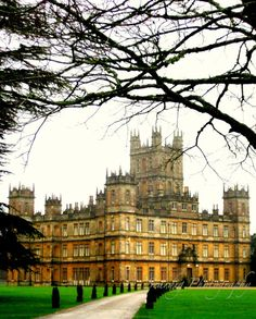 Downton Abbey Vertical Photo. Wall Decor. Highclere Castle. English Countryside. England. United Kingdom. Travel Photography. by seardig, $14.00