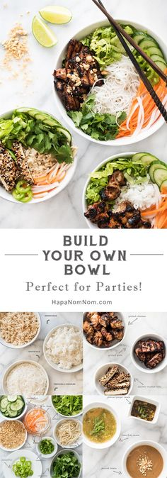 Build Your Own Bowl - Perfect for Parties!