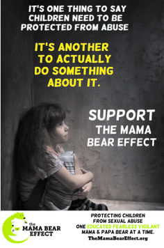 Building Stronger Families -protecting children against sexual abuse. - The Mama Bear Effect