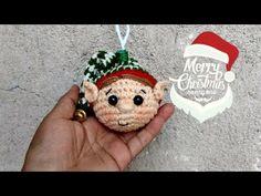 Crochet Christmas Decorations, Christmas Crochet Patterns, Holiday Ornaments, Tree Decorations, Holiday Decor, Dollar Store Christmas, Crochet Dolls, Merry, Ravelry
