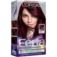 L'Oreal Paris Feria Power Violet Permanent Haircolor