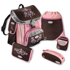 ff4c43fa81208 Sammies Premium - Schulranzen Set 5 tlg. - Royal Crown   Pink  NEU
