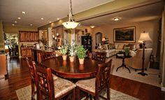 Breakfast Room of the Fraser plan at Trey Vista in Buford