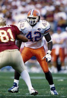 Florida Gators Quarterback Jeff Driskel Shows Off His