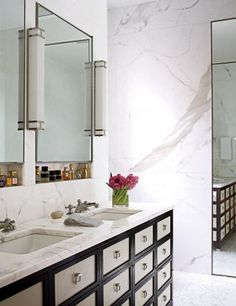 Traditional Bathroom by Peter Marino Architect in New York, New York